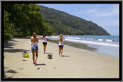 Beach walk at Cape Tribulation NQld-1=