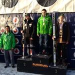 Men's 2nd SG Podium at Panorama Keurig Cup - 1. Jack Crawford, WMSC; 2. Devon Hawkins, BAR; 3. KJ Savaria, USA; Most Improved is Riley Seger, WMSC