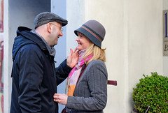 040213_d600_n24_9651_d (jugglingsoot) Tags: street city london face smiling couple cheek touch stroke lovers delight soppy tender thrill