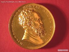 Eugenio Prati Medaglio d'oro 1868 Firenze