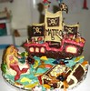 Pirates et Sirènes (2) (revesacroquer) Tags: ocean birthday sea food mer cake treasure fort pirates chest pirate enfant anniversaire sirens gâteau sirene piratesofthecarribean davyjones jacksparrow bâteau sirènes coffre sirenes piratesdescaraibes