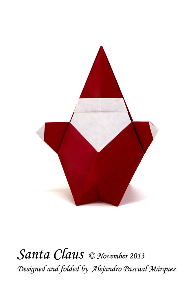 The Worlds Best Photos Of Origami And Pascual Flickr Hive Mind - Origami-papa-noel