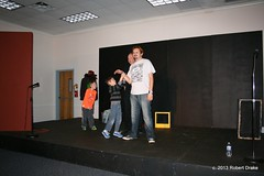 "Our Artistic Director & TD doing a Kids Improv show! <a style=""margin-left:10px; font-size:0.8em;"" href=""http://www.flickr.com/photos/64136680@N07/11699025266/"" target=""_blank"">@flickr</a>"