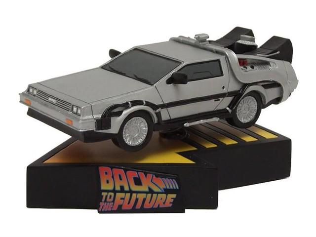 Factory Entertainment – 【回到未來時光車】DeLorean Time Machine 雕像作品