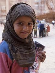 Hawker Girl (newzild) Tags: travel portrait girl four petra treasury olympus m jordan micro zuiko hawker bedouin thirds ep3 1220 m43 vision:people=099 vision:face=099 vision:outdoor=0762