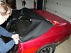 Porsche 924-944 Bieber Cabrio Umbau Montage