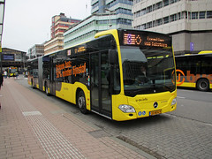 U-OV bus 4117 Utrecht CS (Arthur-A) Tags: bus netherlands buses mercedes utrecht nederland autobus bussen citaro uov qbuzz