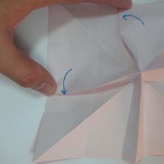 วิธีพับกระดาษพับดอกกุหลาบ 020