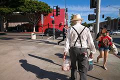 Saturday January 18, 11:01:46 (JulianBleecker) Tags: california street blue red sky chicken weather losangeles unitedstates santamonica sidewalk northamerica