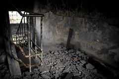 Ruin. (Ryansly) Tags: stairs zeiss canon fire hongkong sony ruin broke a7 ze28