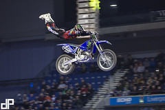 The 2014 Garmin UK ArenacrossUK Tour with E22 Sports at Liverpool's Echo Arena. With Monster Energy Masters of Dirt Red Bull X-Fighters — with Edgar Torronteras at Echo Arena.