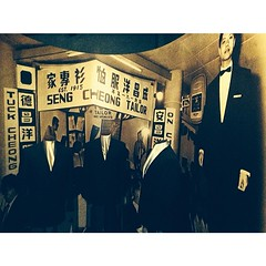 #iczzsg Fashion in Chinatown เรื่องห้องเสื้อ #Tailors ในยุค 1950s เล่าได้ดึงดูดอารมณ์มาก ประทับใจที่สามารถทำห้องแถวเป็นพิพิธภัณฑ์ได้ดีขนาดนี้ #ChinatownHeritageCentre #singapore