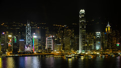 Skyline - 10 (coopertje) Tags: china skyline architecture hongkong nightshot starferry operahouse ifc