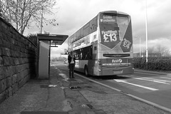 salford  cheap travel? (Broady - Salford art and photography) Tags: life street uk people urban bw manchester photography mono documentary heights salford oth broady irlams salford220214