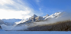 Big Beehive (njchow82) Tags: winter light snow ice clouds landscape scenic lakelouise banffnationalpark canadianrockies victoriaglacier bigbeehive fantasticnature nancychow canonpowershotsx50hs