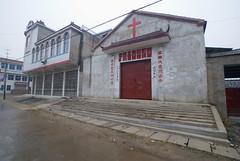 Li Ji Hou Dui kerk (Frans Schellekens) Tags: china church countryside cross religion churches kerk gebouw anhui kruis platteland religie kerken sixian