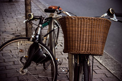 Bike with a Basket and a Bell 207/365 (Philip Masturzo (Done on this site)) Tags: street bike bicycle photography basket phil bell canont3i