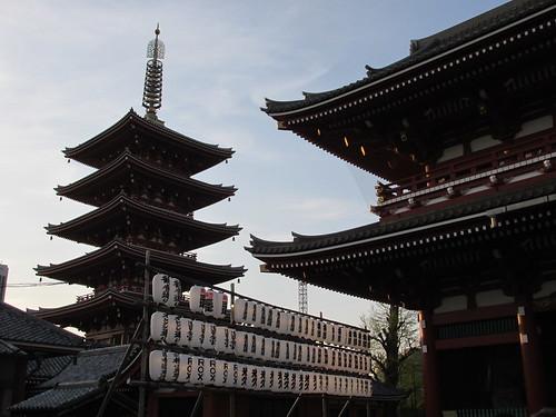 Temple Sensoji, Asakusa, Tokyo, Japon
