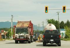 Surrey BC (Ian Threlkeld) Tags: canada garbage nikon bc surrey waste refuse mack trucking garbagetrucks wastedisposal d80 portkells