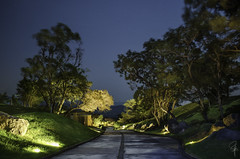 La Reunion Golf Resort (Marcelo Jimenez) Tags: trees sun nature landscape volcano guatemala resort