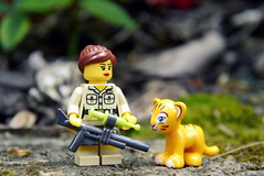 Obligatory Lego picture (R D L) Tags: lego may 2014 edinburghzoo minifigures