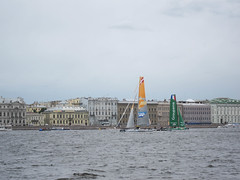 extreme sailing series saint petersburg 2014 (spotykach) Tags: sailing russia catamaran saintpetersburg 2014      extremesailingseries