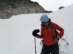 Emma and a crooked helmet? Never! (E. Dagger) Tags: colchuck enchantments