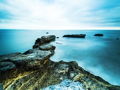 Unexpected Paths (retroSPecktive) Tags: ocean longexposure travel sea bali seascape beach nature indonesia landscape olympus