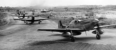 P-51s, Iwo Jima