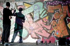 Artist (Francis Johns) Tags: graffitiartist mamiya mediumformat mamiyasekorc80mm28 mamiya6451000s marrickville sydney portra100 kodak film kodakportra100 120mmfilm