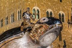 Florenz bei Nacht (Bernhard Schlor) Tags: nacht nightshot palazzovecchio toskana turtle firenze italien tartaruga schildkrte florenz italy