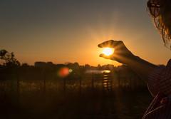 catch the sun (drummerwinger) Tags: rot sonne sonnenuntergang sunset rgen ostsee urlaub canon700d sigma