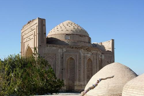 Turkmenistan 552 - Konye (o Kunya)-Urgench - mausolei di  Kupra, Sultan Ali e Vali