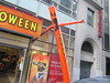Inflatable Tube Man Spirit Halloween 2016 Store NYC 5833 (Brechtbug) Tags: orange wacky waving inflatable arm flailing tube man sky dancer spirit halloween 2016 store 48th street near 6th ave nyc costume mask stores upper west side manhattan new york city ben cooper halco collegeville logos costumes masks holidays holiday warning villain 60 60s 1960s animated cartoon animation cartoons vintage 50s 70s 80s st 09252016 september poster ad advertisement ads