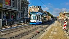 Kleurrijk Amsterdam 1 (Peter ( phonepics only) Eijkman) Tags: amsterdam city combino gvb advertise nederland netherlands nederlandse noordholland holland tram transport trams tramtracks rail strassenbahn streetcars