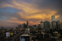 Sunset, Manila, Philippines (ARNAUD_Z_VOYAGE) Tags: islands island phlippines landscape boat sea southeast asia city people volcano amazing asian moutains sunset street action jeepney car province manila building intramuros municipality capital trafic jam philippines filipino filipina art urban