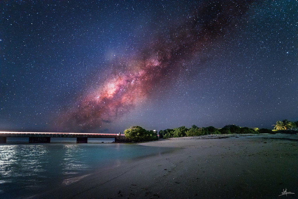 The World's Best Photos of maldives and nightsky - Flickr