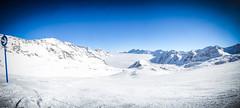 Robert Emmerich - 51 PAN Landscape shot on a lonly path over the clouds at the stubaital glacier - Austria (Robert Emmerich Photography) Tags: 2016 emmerich re robert robertemmerich ski snowboard snowboarding sony stubeital stuckinalps stuckinaustria urlaub w570 winter pan landscape art fineart austria germany stubaital glacier photoshop europeanphotography bwphotography hdr