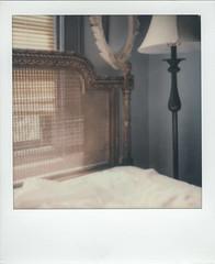 Bedroom (Peter William Knight) Tags: bedroom autumnpolaroidweek2016 polaroid theimpossibleproject sx70