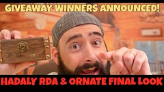 Liked on YouTube: Hadaly RDA & Joyetech Ornate Final Look! Giveaway Winners Announced! (JacobL321) Tags: hotguy hotgirl quitsmoking startvaping combustionisdead vape vapelife driplife vapepics coilporn wireporn wireart vapefam