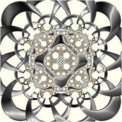Frame of Reference (Ross Hilbert) Tags: fractalsciencekit fractalgenerator fractalsoftware fractalapplication fractalart algorithmicart generativeart computerart mathart digitalart abstractart fractal chaos art hyperbolic escher mandala hyperbolictiling hyperbolicgeometry poincaredisk henripoincare circleinversion tiling orbittrap
