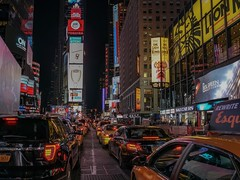 Elections night (karinavera) Tags: travel sonya7r2 timessquare streetusa election trump street night usa urban city