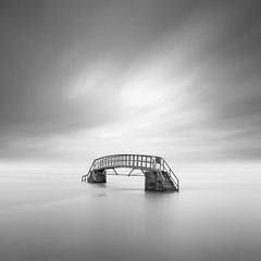 Overpass (Rolie.K) Tags: blackandwhite bw bridge belhavenbay monochrome minimal minimalism east lothian scotland firecrest13 longexposure le fineart 266seconds