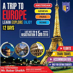 A trip to Europe (COTHMPAKISTAN) Tags: trip europe cothm explore world pakistan