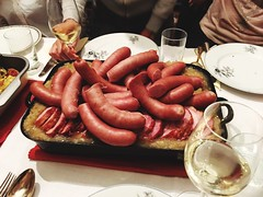 Red Food Food And Drink Freshness Table Plate Indoors  Sausage Real People Healthy Eating Day Trggelen (Photography C A) Tags: red food foodanddrink freshness table plate indoors sausage realpeople healthyeating day trggelen