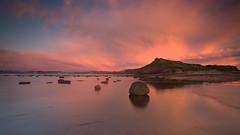 Long Reef Sunrise (RoosterMan64) Tags: australia clouds colour leefilters longexposure longreef nsw reflection rockshelf seascape sunrise sydney