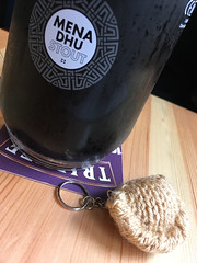 Mena Dhu and knitted pasty, St Austell (looper23) Tags: mena dhu stout st austell brewery knitted pasty cornish cornwall kernow october 2016