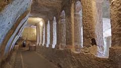 DSCF0060 glise monolithe d'Aubeterre-sur-Dronne (Charente) (Thomas The Baguette) Tags: aubeterresurdronne charente france monolith cave church tympanum glise glisenotredame saintjacques caminodesantiago sexyguy chateau cloister minimes mithra mithras cult