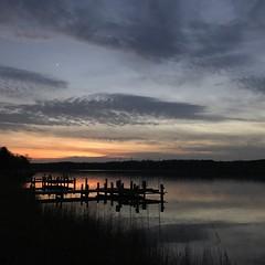 Patuxent Sunset (ymnusa) Tags: planet star lowermarlboro southernmaryland blue orange sky clouds maryland patuxentriver sunset