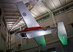 Museum Snowbird #5 (CdnAvSpotter) Tags: casm canadian air space museum rcaf snowbirds ct114 tutor display aircraft airplane ottawa rockcliffe
